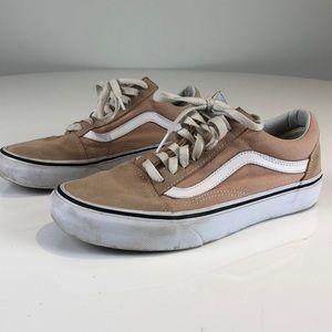 Vans Old Skool - Size 8.5 in Dusty Pink